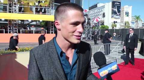 Colton Haynes Interview - 2012 MTV Video Music Awards