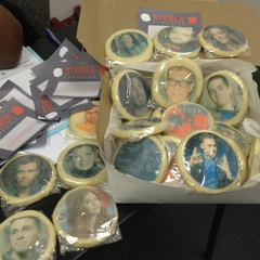 Teen Wolf Behind the Scenes STEREK Cookies Arrive