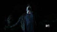 Alpha attacks Derek