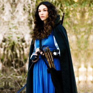 Marie-Jeanne en mode chasseuse