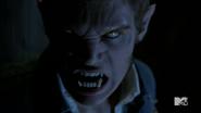 Teen Wolf Season 4 Episode 4 The Benefactor Liam werewolf detail
