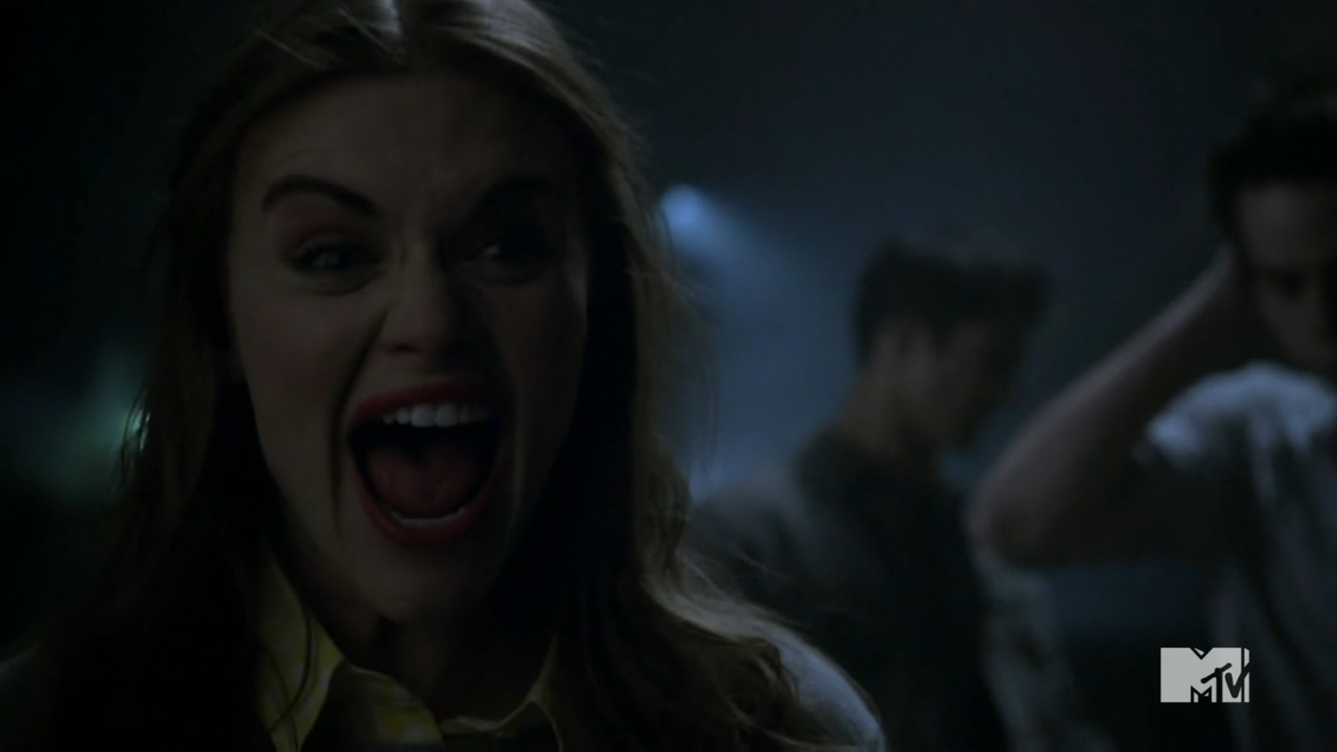 Lydia Martin and Denim Moto Jacket by Guess Photograph