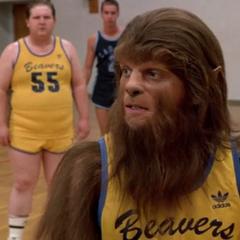 Scott beim Basketball