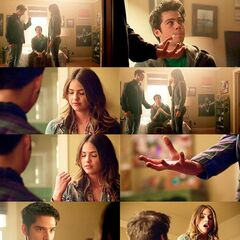 Malia, Stiles et Scott