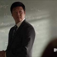 Mr. Yukimura en cours.