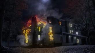 Teen Wolf Season 1 Episode 10 Co-Captain Hale House Burning