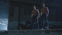 Teen Wolf Wikia Season 3 Behind the Scenes Charlie Carver Max Carver Shirtless Twins
