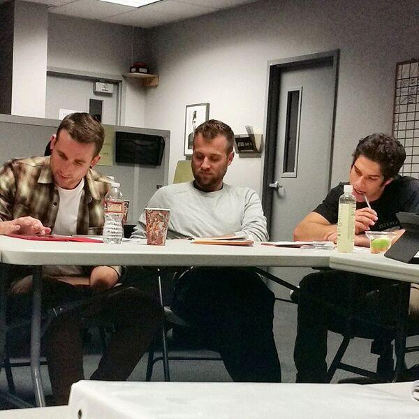 Teen Wolf Season 5 Co-Producers Meeting TWHQ 020515