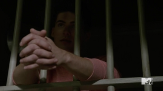 Teen Wolf Season 5 Episode 12 Damnatio Memoriae Theo at Police Station