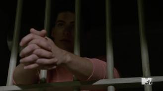 Teen Wolf Season 5 Episode 12 Damnatio Memoriae Theo at Police Station