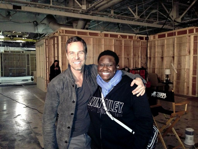 Teen Wolf Behind the Scenes JR Bourne and Shantal Rhodes