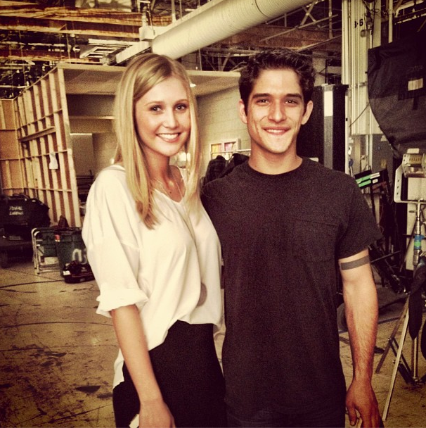 Teen Wolf Season 3 Behind the Scenes Taylor Rowden and Tyler Posey png. Image   Teen Wolf Season 3 Behind the Scenes Taylor Rowden and