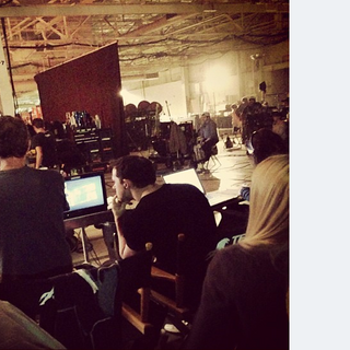 Teen Wolf - First Day Shooting View from Jeff Davis Chair