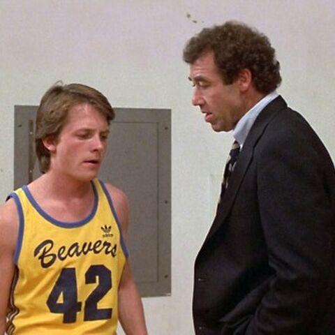 Scott Howard und Coach Finstock