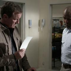 Sheriff Stilinski seeks help from Dr. Deaton