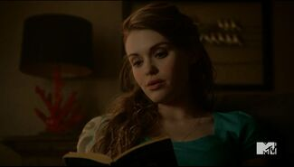 Teen Wolf Season 5 Episode 6 Required Reading Lydia reading the Book