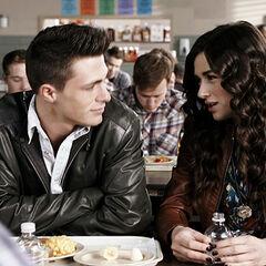 Jackson se rapproche d'Allison...