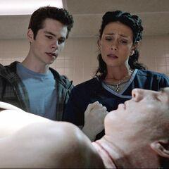 Melissa McCall montre à Stiles une mort suspecte