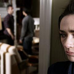 Allison entend son père et Scott