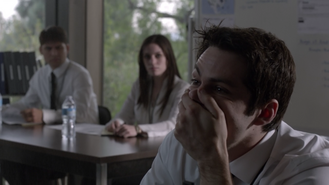Dylan-O'Brien-Stiles-shocked-Teen-Wolf-Season-6-Episode-11-Said-the-Spider-to-the-Fly