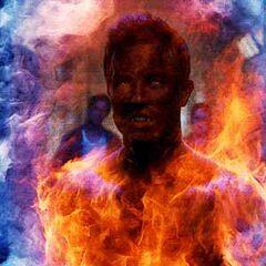 Der Höllenhund brennt sich durch die <a href=