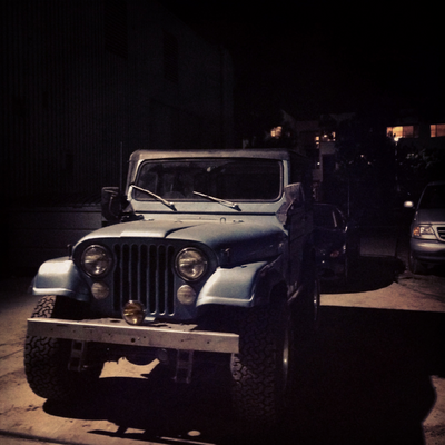 Teen Wolf Behind the Scenes Stiles' Jeep