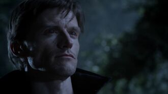 Teen Wolf Season 3 Episode 11 Alpha Pact Gideon Emery Deucalion in Woods