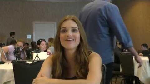 SDCC 2016 Teen Wolf - Holland Roden Talks Stydia and Banshee Powers