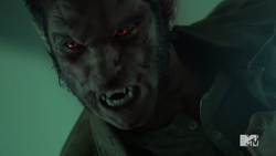 Teen Wolf Season 4 Episode 10 Monstrous Scott face ripple