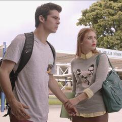 Stiles et Lydia