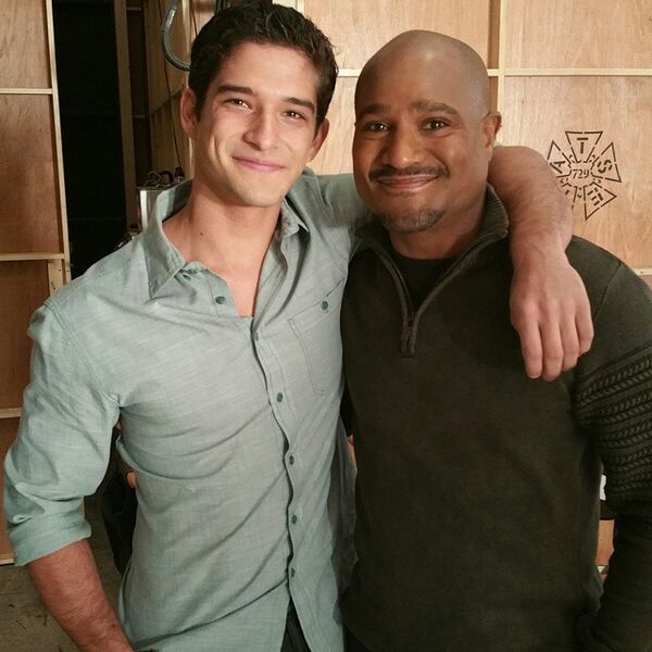 Teen Wolf Season 5 Behind the Scenes Tyler Posey Seth Gilliam TWHQ 022315
