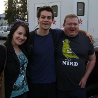 Teen Wolf Behind the Scenes Reviews for Humans Set Visit Dylan O'Brien