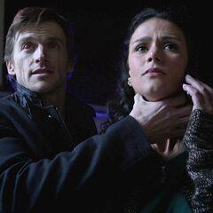 Scott à une HALUCINATON de Deucalion qui tue sa mère