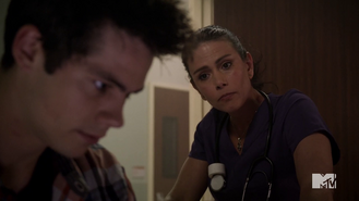 4x10 Melissa and Stiles