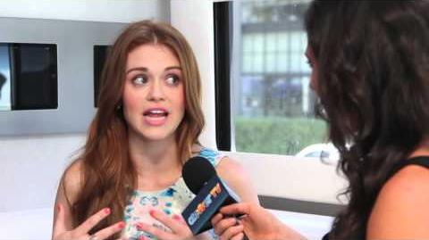 Holland Roden Exclusive 2012 MTV VMA Report