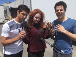 Teen Wolf Season 5 Behind the Scenes Needle Fingers 2