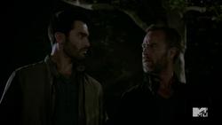 Teen Wolf Season 4 Episode 5 IED Derek and Chris