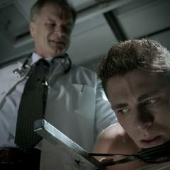 The Doctor says Jackson has Wolfsbane Poisoning