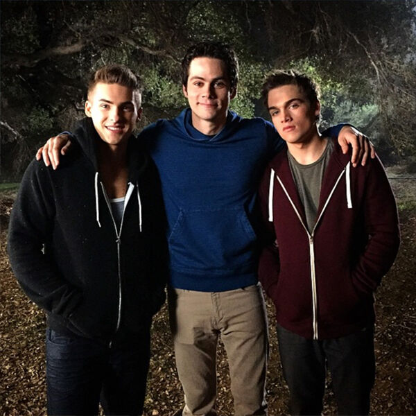 Teen Wolf Seasn 5 Behind the Scenes Cody Christian, Dylan O'Brien, Dylan Sprayberry malibu creek