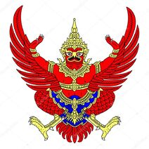 Garuda as depicted in-thailand-coat-of-arms