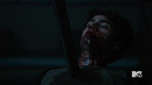 Teen Wolf Season 5 Episode 5 Donovan impaled