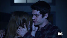 Holland-Roden-Dylan-O'Brien-Lydia-Stiles-reunite-Teen-Wolf-Season-6-Episode-10-Riders-on-the-Storm