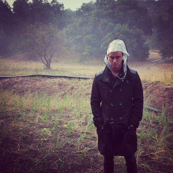 Teen Wolf Season 5 Behind the Scenes Ryan Kelley Malibu Creek rain 051415