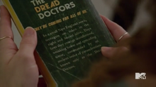 Teen Wolf Season 5 Episode 5 Lydia with dread doctors book
