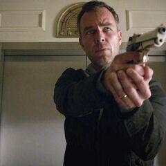M. Argent avec son armes