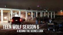 Teen Wolf News Season 6B Behind the Scenes Location Shoot