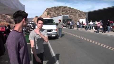 Rock Throwing Video MTV