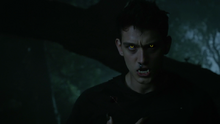 Cody-Saintgnue-Brett-werewolf-eyes-fangs-Teen-Wolf-Season-6-Episode-12-Raw-Talent
