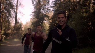 Teen Wolf Season 3 Episode 4 Unleashed Charlie Carver Max Carver Daniel Sharman Isaac Chases Alpha Twins