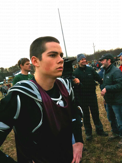 Dylan-OBrien-first-day-filming-Teen-Wolf-Feb-01-2010